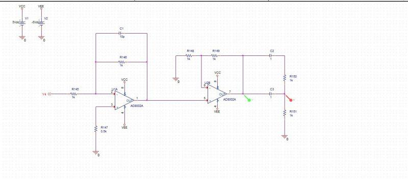 电子/电路 标题:两个微分器叠接在一起波形的问题