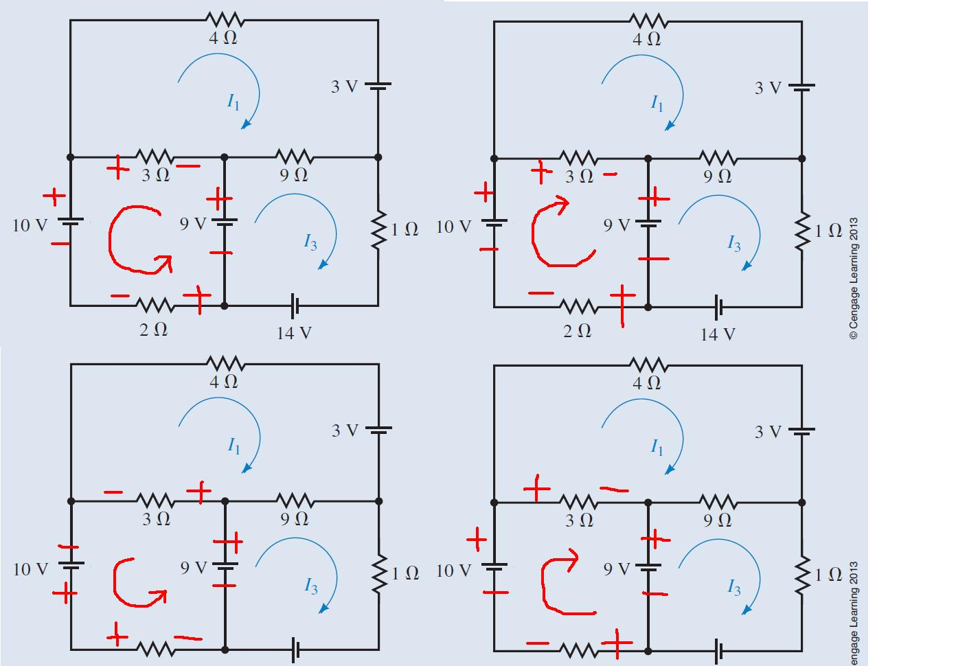 关於电路分析中,电压与电流的假设!