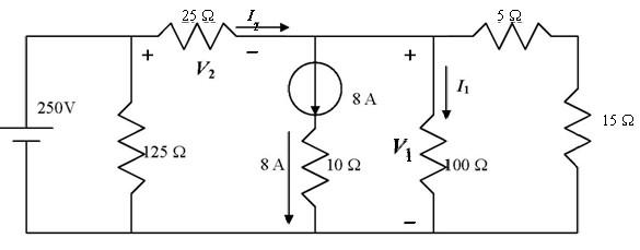 高中物理教材内容讨论:电路图求电压电流