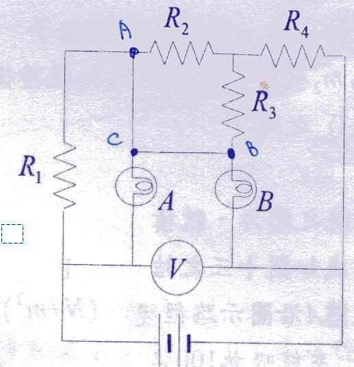 高中物理考题 电路问题